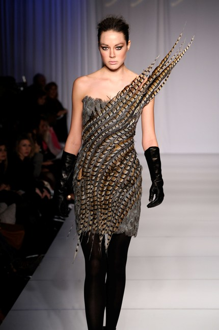 Pheasant dress