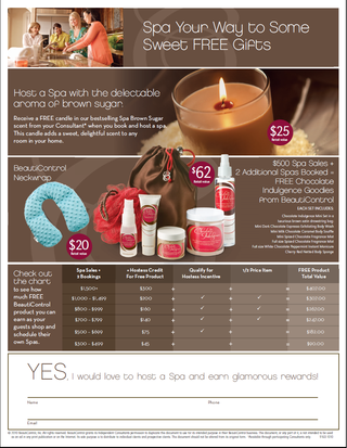 November Hostess Flier