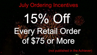 15% offer