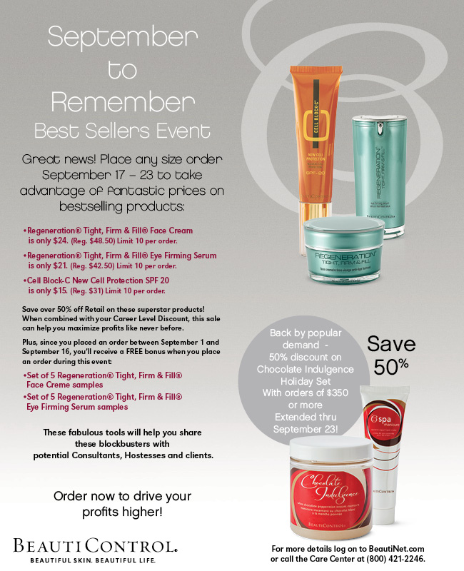 September to remember offer