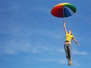 Happywomanumbrella