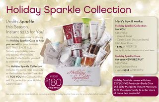 Holiday sparkle collection