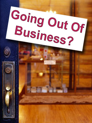 Going out of business?
