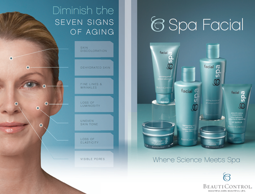 Bc spa facial ad slick