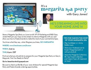 Live spa with gary
