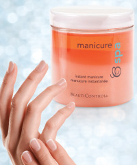 Instant manicure and hands
