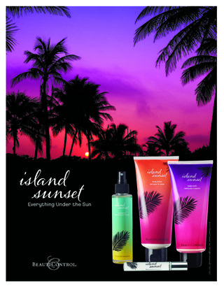 Island sunset collection