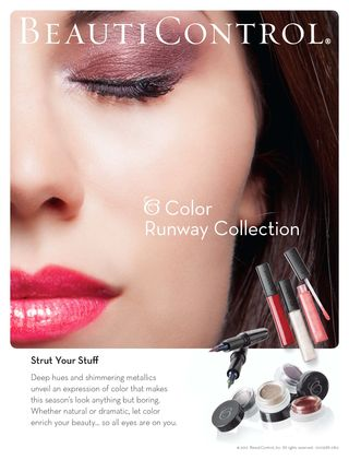 Runway Color Collection Ad
