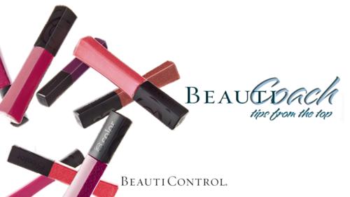 Beauticoach header lip gloss