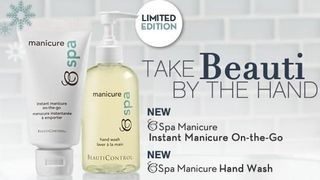 Instant manicure on the go