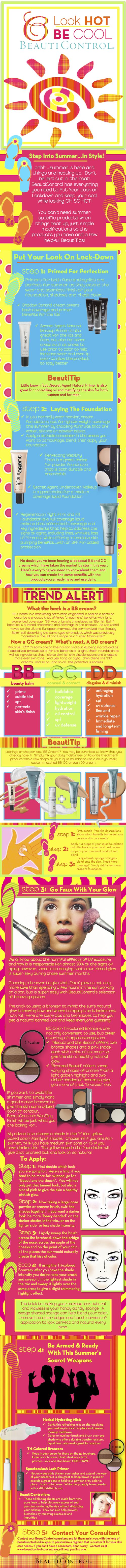 Look Hot Be Cool Infograph JPG