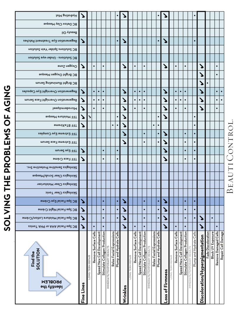 SOLVING THE PROBLEM OF AGING - PROBLEM-SOLUTION CHART HORIZONTAL LAYOUT page1 png